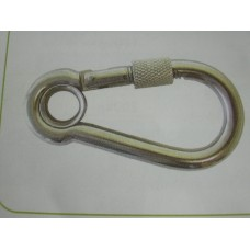 Stainless Screw Snap Hook 10mm